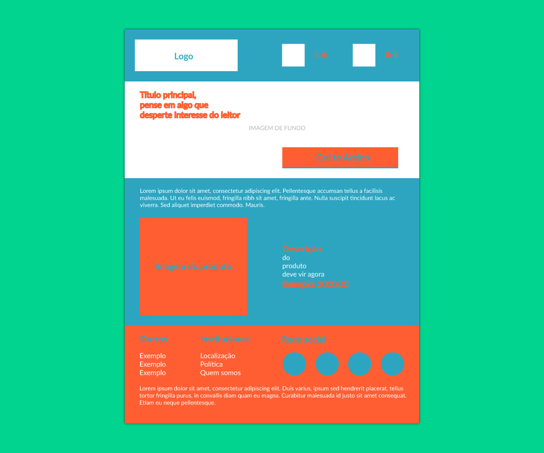 design layout email marketing